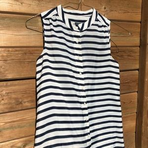 ⚡️⚡️3/$20⚡️⚡️ J.Crew White/Navy stripes